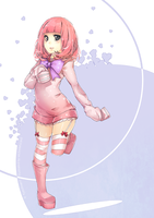 Fluffy Pink by wickedAlucard