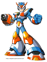Megaman X3 Paint 1 by Esperino