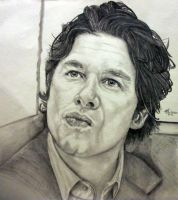 Zach Braff aka Dr John Dorian or 'JD' in 'Scrubs.' by Anita-Sanderson
