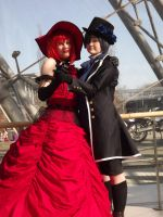 Madame Red and Ciel by FuriaeTheGoddess