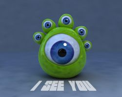 See monster by vozzz