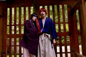 Kenshin and Megumi by dahcyst