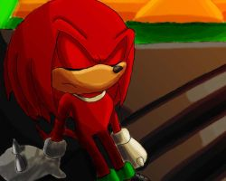 guardian of angel island, knuckles by SonicForTheWin1