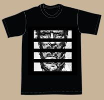Clint Eastwood T-Shirt Design by FoxHound1984