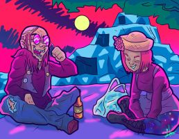 TRIPPY  PICNIC COMMISSION by Candys-Killer