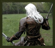Drizzt Do'Urden - back by farmer-bootoshysa