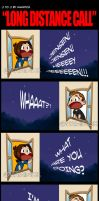 J to J: Long Distance Call by KamiDiox