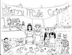 Merry TF Cafe' Christmas by ShaD-23