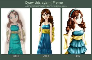 Draw This Again Meme Melody...And Again by Dahnell