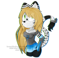 .:Comm:. Lily Nicole The Cat + Speedpaint by Laurathedog