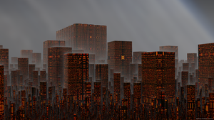 Ominous Urbanism by WolfSorcerer