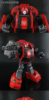 Autobot Cliffjumper by Jin-Saotome