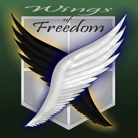 Wings of Freedom by VioletDragonian
