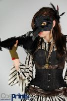 Bird Lady Steampunk Costume by AsSeenOnStevie