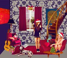 New year room by MarryBrooks