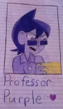 My Professor Purple by AlloraWither
