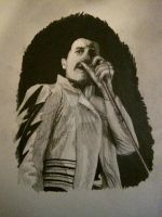 Freddie Mercury by RushYesZeppelin