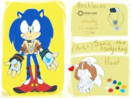 Portal:: Sonic the Hedgehog ref by Foxie-sonadowlover