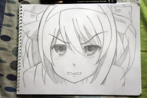 Haruhi Suzumiya (Traditional) by Zer0-Slayer