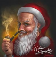 Frohe Weihnachten / Merry Christmas 2014 by luebbi1981