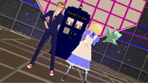 A Lie, a TARDIS, and a Flying Mint Bunny (vidlink) by CartoonPrincess15