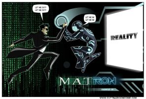 The Matrix Vs. Tron by CuttingRoom
