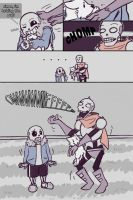 .Undertale Fancomic: Annoying Dog - Page 4.+ by Kintanga