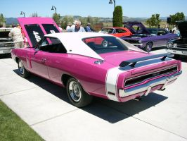 1970 Charger RT Pink Panther 3 by RoadTripDog