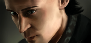 Loki closeup by Kasu-kan