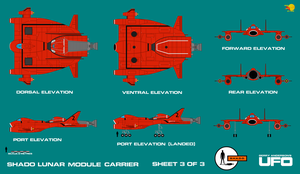 Gerry Andersons UFO SHADO Lunar Carrier Sheet 3 of by ArthurTwosheds