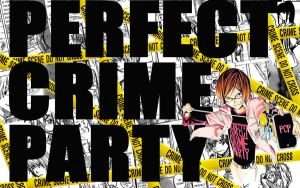Perfect Crime Party Wallpaper by NikeW