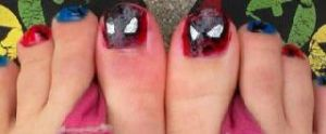 Spidey toes by wittlecabbage
