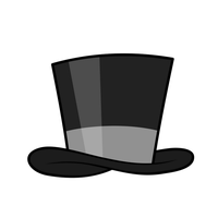 Vector - Hat: Tophat by MisterAibo