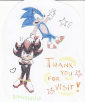 Thank you for visit by SonicXLelile