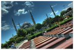 The Blue Mosque HDR by mounirian128