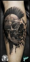 mohican skull master by quintocavaleiro