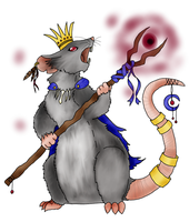 Rat King wip by Lillonwy