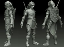 Link WIP_1 by SingYourLife