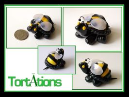 Bumble the Tiny Tort by Tortations