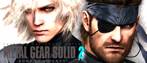 Metal Gear Solid 2: Raiden And Snake SIGN by Silas-Tsunayoshi