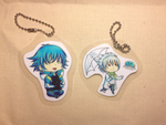 DMMd: Laminated charms by Kooriesque