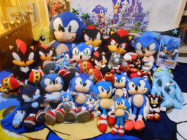 Sonic plush collection by f-sonic