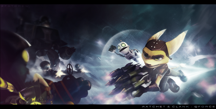 Ratchet and Clank '2 by FuuX