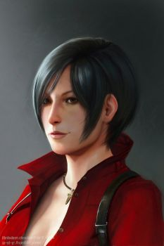 Ada Wong by Anixien