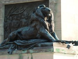 Lion Statue Stock by Ghost-Rebel-Stock