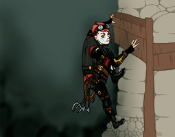 The Thief by PaintBerryBird