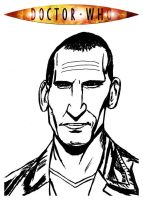 DR. Who - Christopher Eccleston by StevenEly