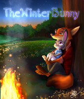 By The Fire... by TheWinterBunny