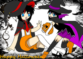 .:Happy Halloween:. 2011 by DarkElements10