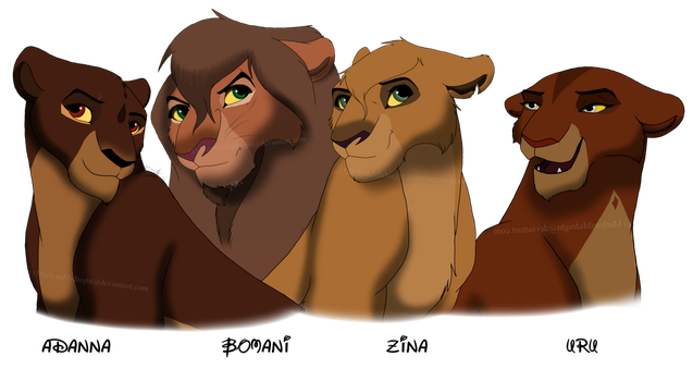 Kovu and Kiara Cubs - Adult by MerlynsMidnight